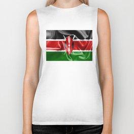 Kenya Flag Biker Tank