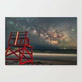 Milkyway at Good Harbor Beach 6-11-18 Canvas Print