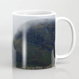 misty start on the tongariro alpine crossing Coffee Mug
