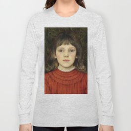 "Evelyn De Morgan ""Portrait of Winifred Julia Spencer Stanhope"" Long Sleeve T-shirt"