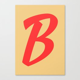 ABC FY - B Canvas Print