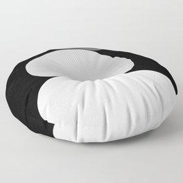 b&w 1 Floor Pillow