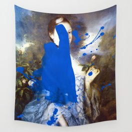 Blue Bomb Wall Tapestry