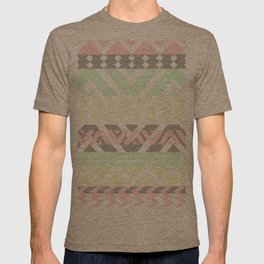 chevron pattern. T-shirt