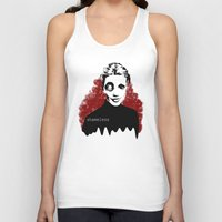 shameless Tank Tops featuring shameless by Brent Griffith Art