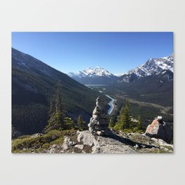 Mount Rundle, May 2015 - 001 Canvas Print