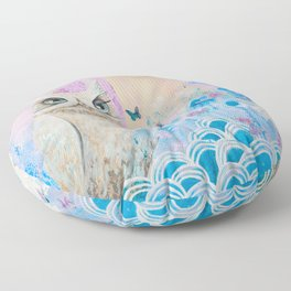 The Other Side of Metamorphosis  Floor Pillow