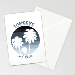 Sunsets & Chill (Oldies) Stationery Cards