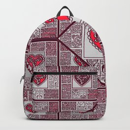 Big hearted Love (red) Backpack
