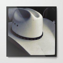 Cowboy Hat Metal Print
