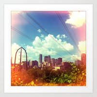 minneapolis Art Prints featuring minneapolis by sara montour