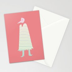 A Stranger Comes A-Callin' Stationery Cards