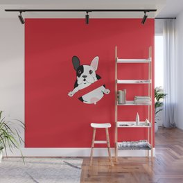 Lil Stam Busters French Bulldog Wall Mural