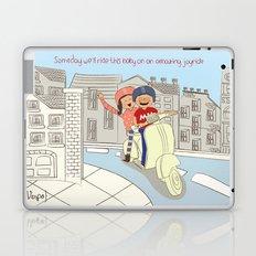 I {❤} Vespa Laptop & iPad Skin