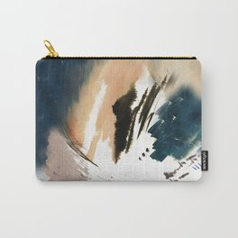 Twilight Wandering - a watercolor and ink abstract  Carry-All Pouch