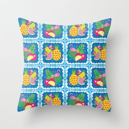 Tropicool  Throw Pillow