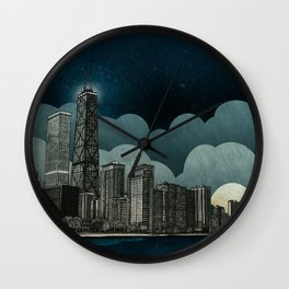 And the Embers Never Fade Wall Clock
