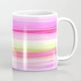 New World Desert Horizon in Pink and Yellow Coffee Mug