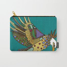 jewel eagle turquoise Carry-All Pouch