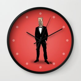 I Am Not Famous Anymore Wall Clock