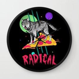 So Radical Wall Clock