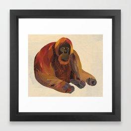 The Orangutan Framed Art Print