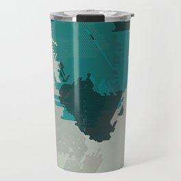 Geometric Mapping #2 • by Secret Peak Travel Mug