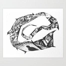 Stinger Art Print