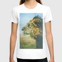 lion T-shirts featuring Lion by Esco