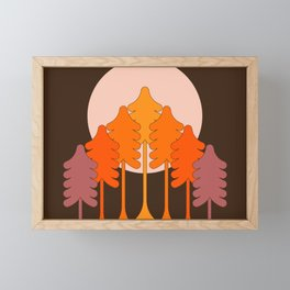 Super Worm Equinox Moon Framed Mini Art Print