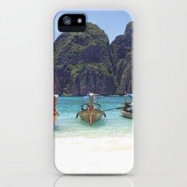 Maya Bay, Phi Phi Island Leh, Thailand iPhone Case
