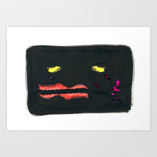 Face #01 Art Print
