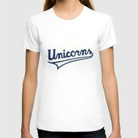unicorns T-shirts featuring Unicorns by WEAREYAWN