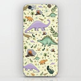 Dinosaurs! iPhone Skin