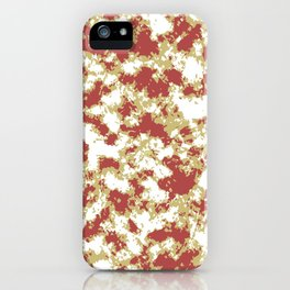 Abstract Textured Grunge Pattern iPhone Case