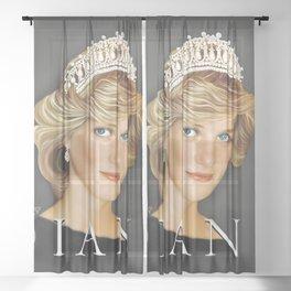 PRINCESS DIANA Sheer Curtain