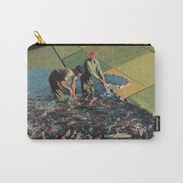 Salmon Farm Carry-All Pouch