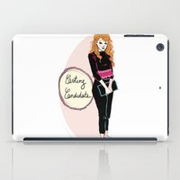 mad men iPad Cases featuring Young Joan from mad men  by Morgane Carlier