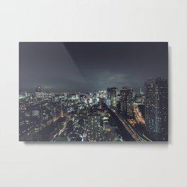 TOKIO II Metal Print