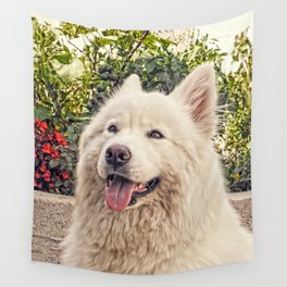 Angel In Disguise Wall Tapestry
