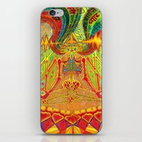 meditation iPhone & iPod Skins featuring Meditation by Vedran Misic