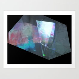window worlds Art Print