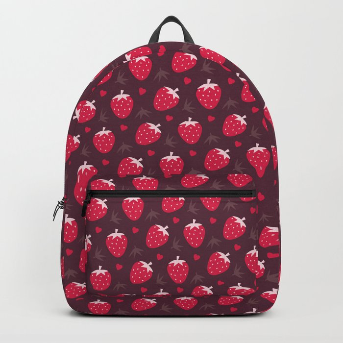 STRAWBERRIES AND CHOCOLATE Backpack