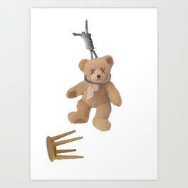 Teddys Hanging around... Art Print