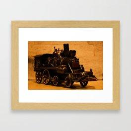 Lost Train One Framed Art Print