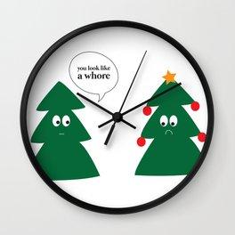 Whore Wall Clock