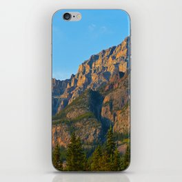 Mt. Kerkeslin in Jasper National Park iPhone Skin
