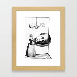 Tea Party for the Super-males. (Saint John the Baptist Martyr) Framed Art Print