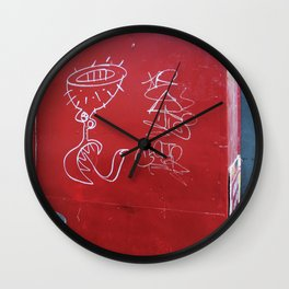 As aventuras da Perna Cabeluda Wall Clock