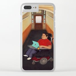 Home Boy Clear iPhone Case